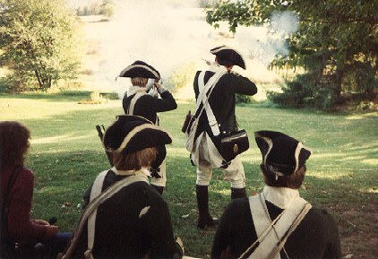 Musketry demonstration