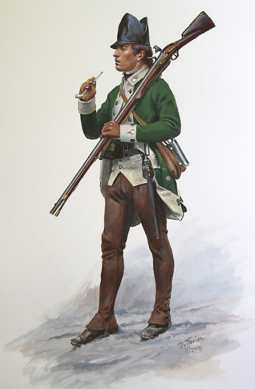 Delancey's First Battalion, 1777-78