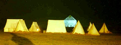 Loyalist Encampment, Ft. Edward, Nova Scotia, 1996