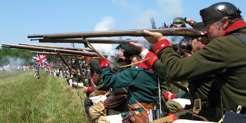 Butler's Rangers at Fort George, 2010